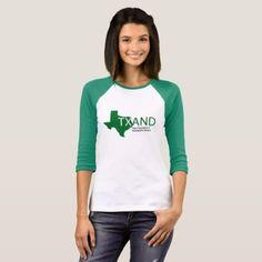T-shirt 3/4 sleeve -nature diy customize sprecial design