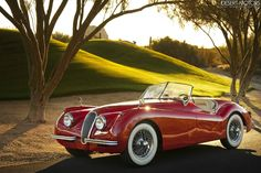 1954 Jaguar XK120  via topvehicles
