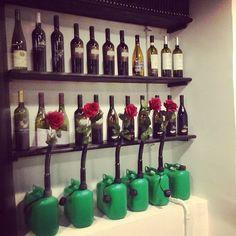 le rose crescono tra il vino e la benzina