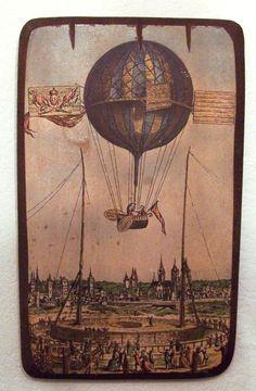 Early hot air balloon
