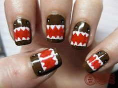 I wish Emilee would paint her nails like this. For me.