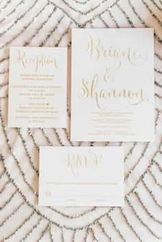 The Wedding Story of Shannon and Brian Sharer | WeddingDay Magazine  Gorgeous invitations created by Digibuddha, available at digibuddha.com