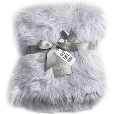 Nicole Miller Light Grey Luxury Mongolian Lamb Wool Faux Fur High Low... (1.177.405 IDR) ❤ liked on Polyvore featuring home, bed & bath, bedding, blankets, blanket, faux fur bedding, fake fur throws, plush throw blanket, faux fur throw blankets and wool blanket