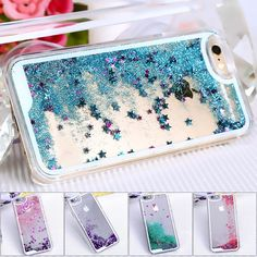i6/6s/plus New Fashion Transparent Clear Funda Cover Case for iphone 6 6s plus Luxury Crystal bling glitter case For iphone 6s