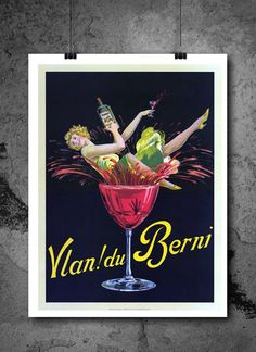 Vintage Cocktail Van Du Berni Travel Poster Print 8x10 Print. Vintage Cocktail Van Du Berni Travel Poster Print 8x10 Print - HIGH QUALITY PRINTS - Focusing on making quality prints for the Home & Office. Introducing Our : Vintage Travel Collection -This 8x10 print is Ready-To-Frame and will fit perfectly in any Frame with Mat when delivered. BEAUTIFUL WALL ART: Our posters provide daily inspiration, beauty, tranquility and are the perfect choice for the office, dorm room, classroom or…