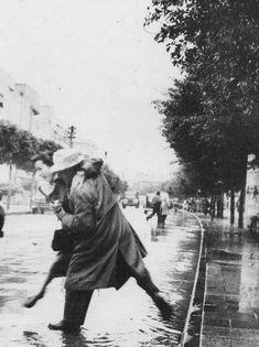 12 фото зимнего Тель-Авива 50-70 лет назад