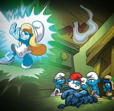 In SMURFSTHE LOST VILLAGE Learns She Can Absorb Magic After Gargamel Captures The Smurfs Smurfette Decides To Rescue Them Tells That