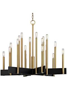 Abrams 18 light chandelier