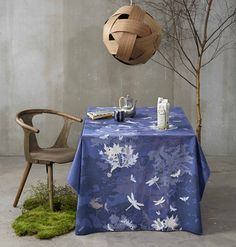 Forrest Floor - perfect for your autumn tabel - design by Susanne Schjerning