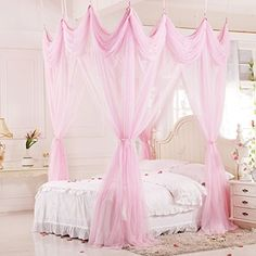 Baihong Convertible Baroque Home Decoration Mosquito Net Curtain Bed Canopy