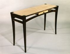 Custom Made Hall Table by Mykiss Fine Woodworking | CustomMade.com