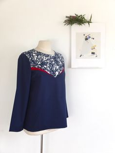 Blouse Péché Mignon - Delphine et Morissette By Hand London, Tilly And The Buttons, Couture Sewing, Couture Tops, Boutique, Sewing Clothes, Dressmaking, Diy Fashion, Sewing Patterns