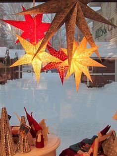 Taito Shop Joensuu, Finland and Christmas stars