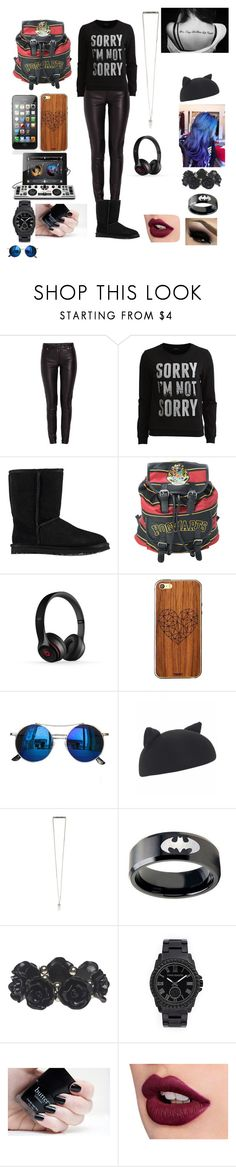 """Huh?"" by ashtonlovesbvb ❤ liked on Polyvore featuring мода, Morgan, VILA, UGG Australia, Beats by Dr. Dre, Toast, Chicnova Fashion, Helene Berman, Wet Seal и Vince Camuto"