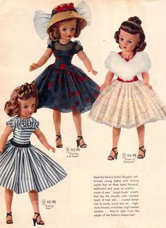 """Ideal's Revlon dolls were introduced in late 1955 or 1956. Although usually referred to as """"Miss Revlon"""" by collectors, it is important to note that the company always promoted th…"""