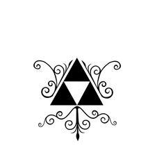 Triforce Tattoo Design 1 by SvanaM