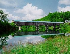 BATH BRIDGE   Bath, New Hampshire Bath has the largest amount of covered bridges in one city. I want to go there.