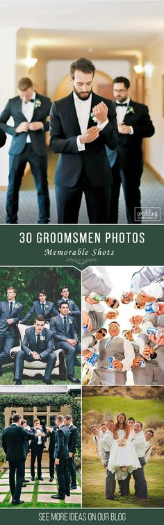 30 Awesome Groomsmen Photos You Can't Miss ❤ Need some ideas how to capture your best friends? We gathered a gallery of awesome groomsmen photos that you can't miss! See more: http://www.weddingforward.com/groomsmen-photos#weddings #groomsmen