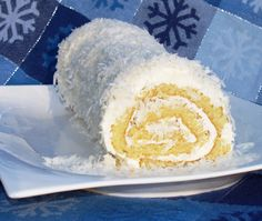 Coconut Roulade