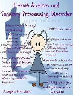 Sensory Processing - an explanation in easily understood terms. Description from…