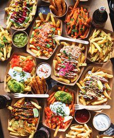 Pub Food, Cafe Food, Food Porn, Fritas Recipe, Pyjama-party Essen, Hamburger Recipes Easy, Sleepover Food, Good Food, Yummy Food