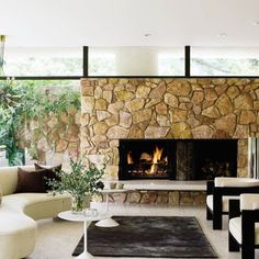 Fireplaces with Flair : Architectural Digest