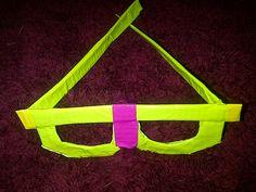 duck tape nerd glasses.