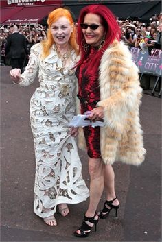 When I get older: Vivienne Westwood & Patricia Field.