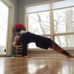 """Day 13 for  #practicepracticepractice ... @kinoyoga had a beautiful post on backbends for today. I'm not huge on #backbends so I tend to shy away from them. It was just this year that I felt like I """"got"""" wheel (after 15 years of practicing it). But there are so many other beautiful backbends and heart openers to incorporate into your practice.  @beachyogagirl @kinoyoga Charity focus @twloha  #yoga #yogamom #januaryyoga #januaryyogachallenge #winteryoga #igyogafam #igyoga #igyogacommunity…"""