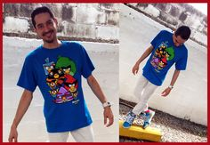Angry Birds in Space t-shirt :)