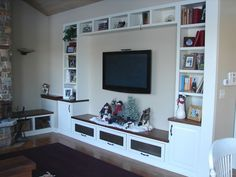 entertainment center built in - Google Search