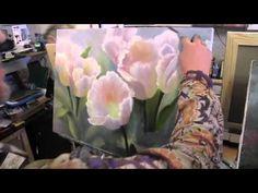 Russisch - Tulpen Schilderen met de spatel - You Tube