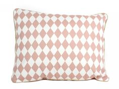 Cushion Apollos pink diamonds Perfect way to decorate the sofa. Combine it with same colored products to create an harmonious decoration. Designed and made in Spain Cushions, Throw Pillows, Pattern, Pink Diamonds, Design, Home Decor, Spain, Decoration, Create