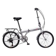 "20/"" Folding Bike Mountain shock-absorbing Bike 6 Speed Bicycle School Sport M"