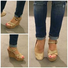 MORE PTMT PICKS FROM THE NORDSTROM HALF YEARLY SALE!!!  These gold UGG wedges are cute AND comfy!