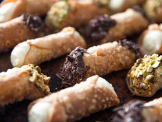 Good cannoli are impossible to find, but they're more than possible to make at home—if you have the right ingredients, anyway. Start with the best-quality ricot Homemade Cannoli Recipe, Homemade Vanilla Pudding, Serious Eats, Cannoli Shells, Enamel Dutch Oven, Pastry Shells, Chocolate Cheese, Thing 1, A Food