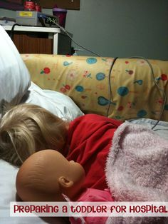 how to prepare a child for a stay in hospital
