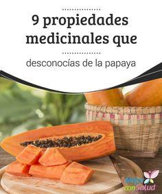 9 propiedades medicinales que desconocías de la papaya  La papaya es una fruta tropical proveniente de América Central, cuyo sabor dulce ha conquistado el paladar de millones de personas en todo el mundo.