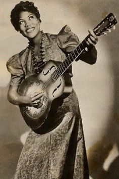 """Sister"" Rosetta Tharpe - Elvis Presley and Jerry Lee Lewis to Isaac Hayes and Aretha Franklin, have identified her—or, more particularly, her singing, guitar playing and showmanship—as an important influence on them."