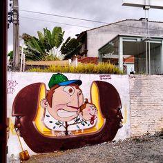 "645 curtidas, 6 comentários - SAMPA GRAFFITI (@sampagraffiti) no Instagram: ""Obra de @pretopac e @ygorone | Vila Madalena - São Paulo | #sampagraffiti #streetart #graffiti…"""