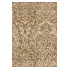 Queen Vic Dynasty Area Rug - Cream