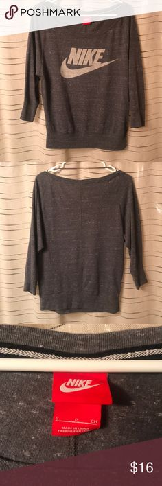 3/4 sleeve off shoulder Euc Nike Tops