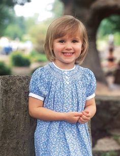 How to Add a Box Pleat to a Bishop Dress - Martha Pullen Smocking Baby, Smocking Plates, Smocking Patterns, Smocked Baby Clothes, Smocked Dresses, Baby Dresses, Cotton Dresses, Little Girl Outfits, Kids Outfits