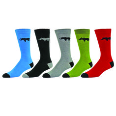 b.ella-Rhino-Cotton-Mens-Crew-Sock great gift for Father's Day