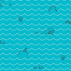 Sea Critters ~ Seven Seas ORGANIC @ Sew,Mama,Sew!