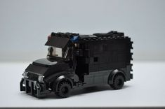 LEGO SWAT Police Black SUV HUMMER Truck Custom Speed Champions  #LEGO Swat Police, Police Truck, Lego Police, Lego Army, Black Truck, White Truck, Lego City Police Station, Hummer Truck, Car 3d Model