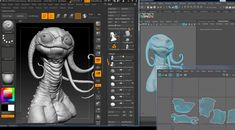 Advanced Texturing - Creature Painting