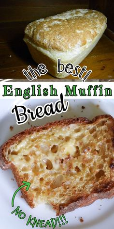 Tortillas, English Muffin Bread, English Muffins, Bread Machine Recipes, Artisan Bread Recipes, Foodblogger, Brunch, Bread Baking, Yeast Bread
