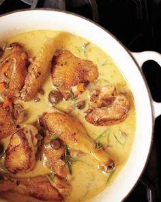 Chicken Fricassee (Fricassée De Poulet a L'Ancienne)