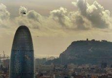 Vuelo en helicóptero sobre Barcelona